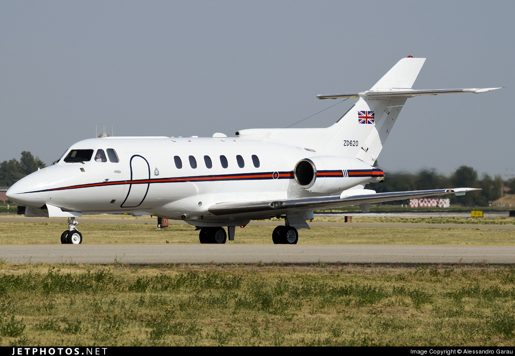 Photo of ZD620 British Aerospace BAe 125 CC.3 by Alessandro Garau