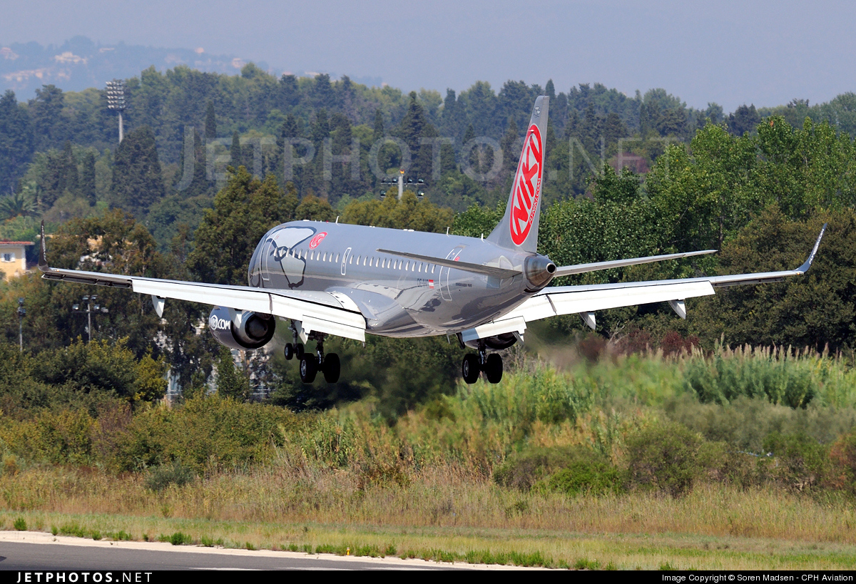 Photo of OE-IHC Embraer 190-100LR by Soren Madsen - CPH Aviation