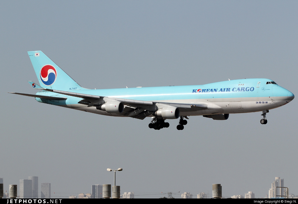 Photo of HL7467 Boeing 747-4B5F(SCD) by Siegi N.