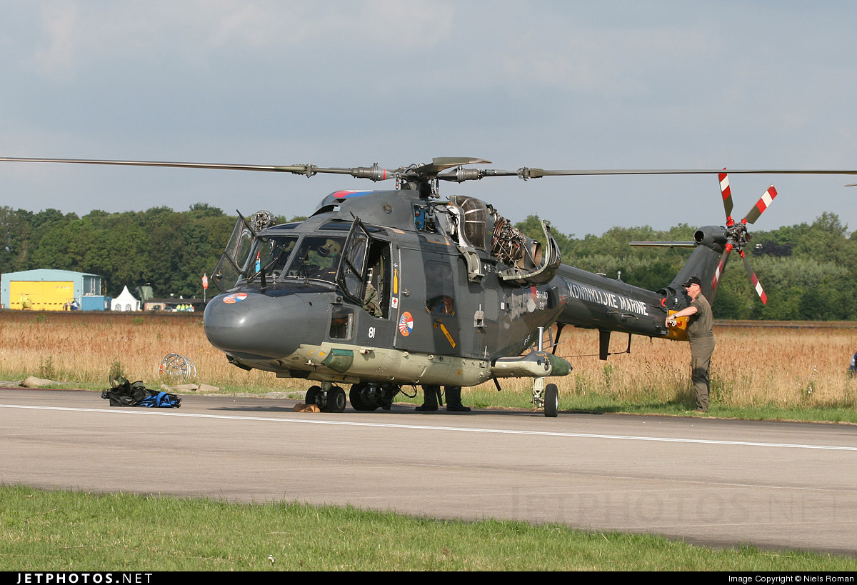 Photo of 281 Westland SH-14D Lynx by Niels Roman