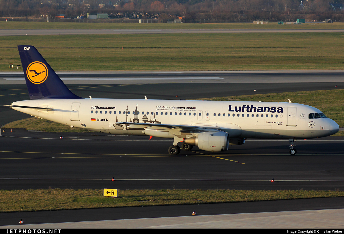 Photo of D-AIQW Airbus A320-211 by Christian Weber