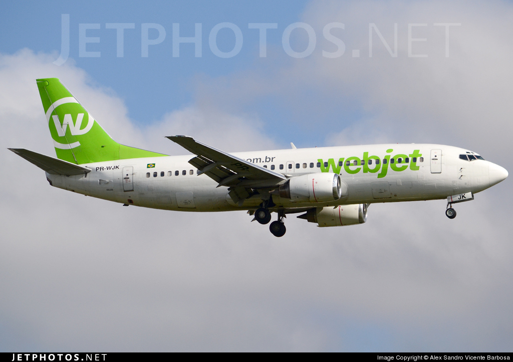 Photo of PR-WJK Boeing 737-33A by Alex Sandro Vicente Barbosa