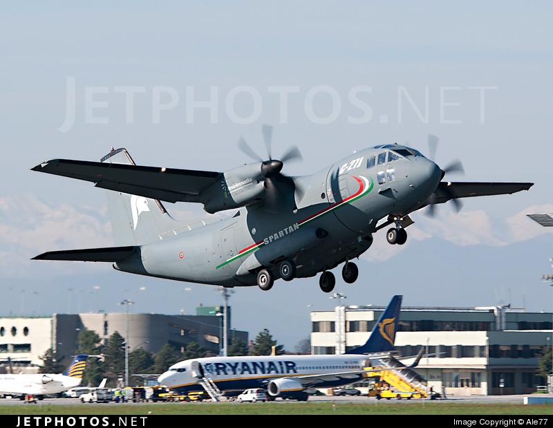 Photo of CSX62127 Alenia C-27J Spartan by Ale77