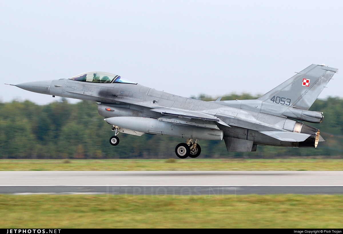 Photo of 4053 Lockheed Martin F-16C Fighting Falcon by Piotr Trojan