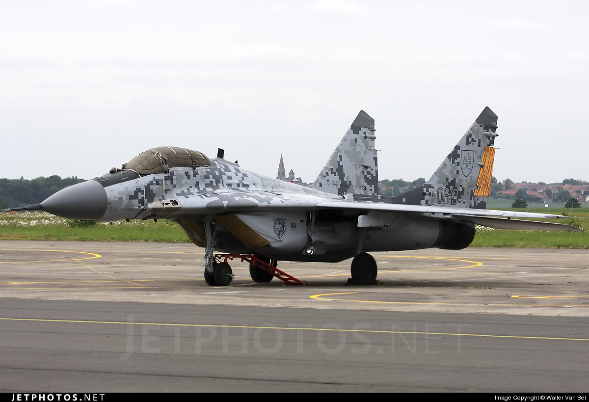 Photo of 0619 Mikoyan-Gurevich MiG-29AS Fulcrum by Walter Van Bel