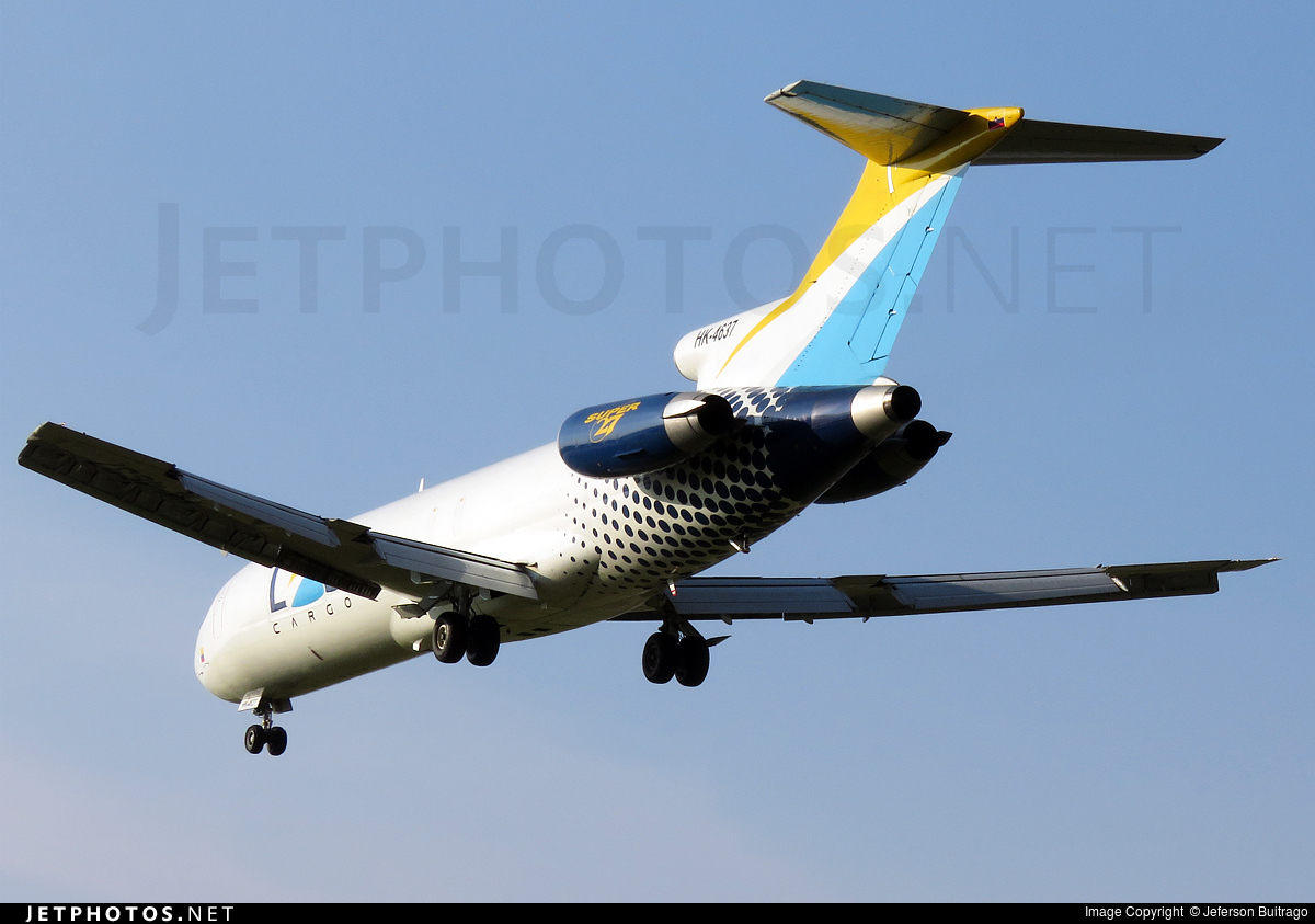 Photo of HK-4637 Boeing 727-2S2(Adv)(F) by Jeferson Buitrago