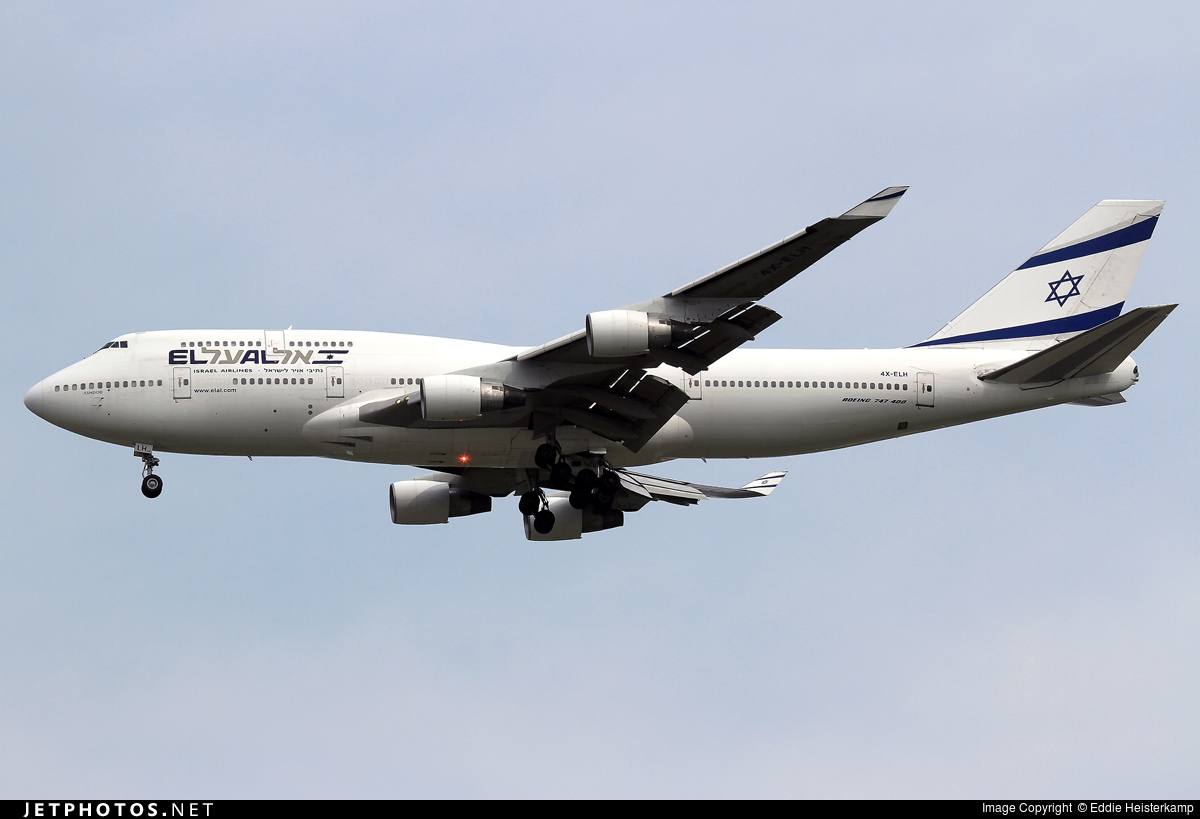 Photo of 4X-ELH Boeing 747-412 by Eddie Heisterkamp