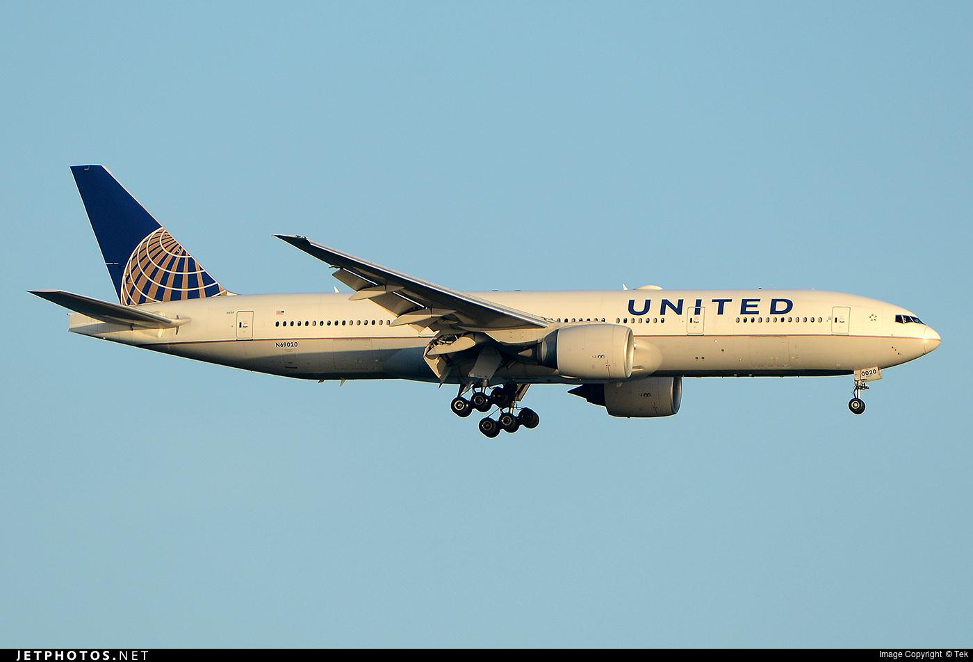 Photo of N69020 Boeing 777-224(ER) by Tek