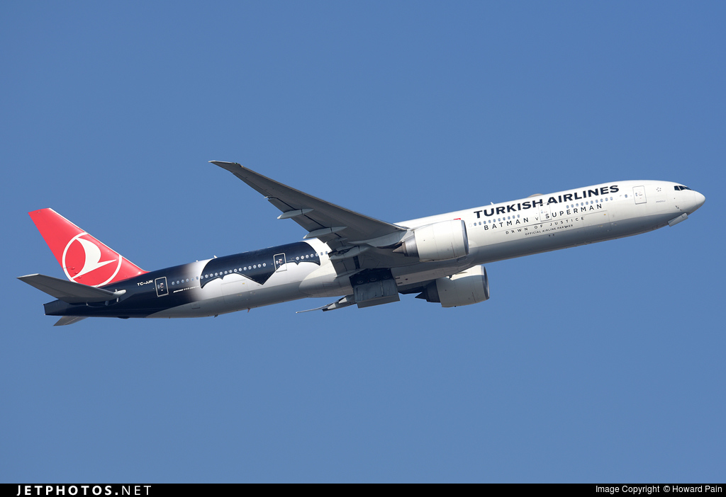 Photo of TC-JJN Boeing 777-3F2ER by Howard Pain