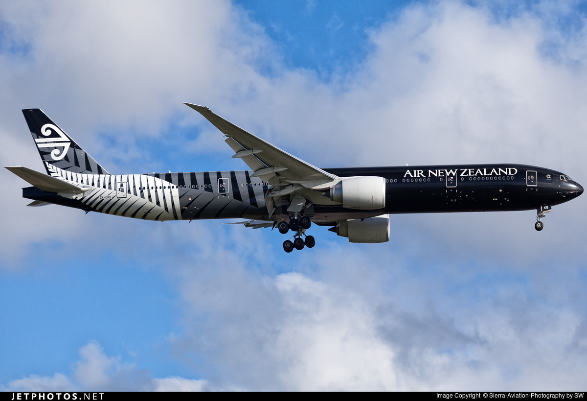 Photo of ZK-OKQ Boeing 777-319ER by Sierra-Aviation-Photography by SW