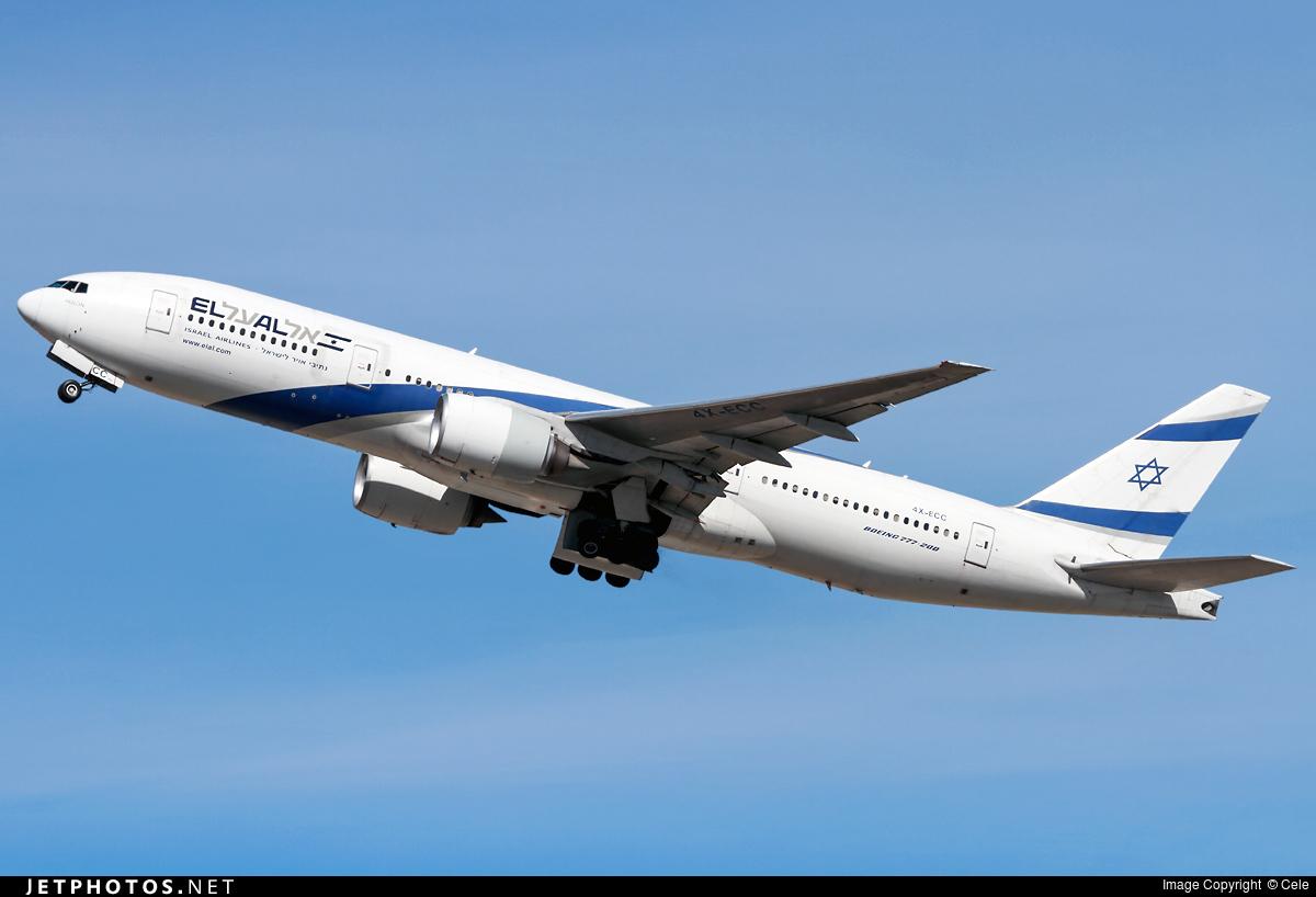 Photo of 4X-ECC Boeing 777-258(ER) by Cele