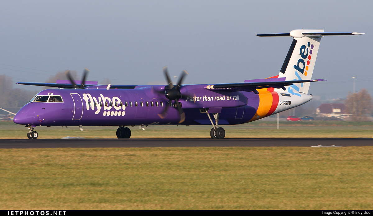 Photo of G-PRPB Bombardier Dash 8-Q402 by Indy Udol