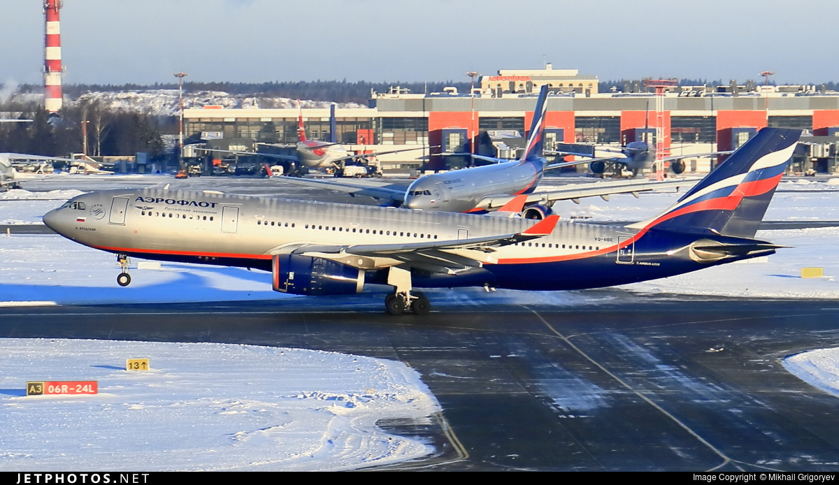 Photo of VQ-BBE Airbus A330-243 by Mikhail Grigoryev