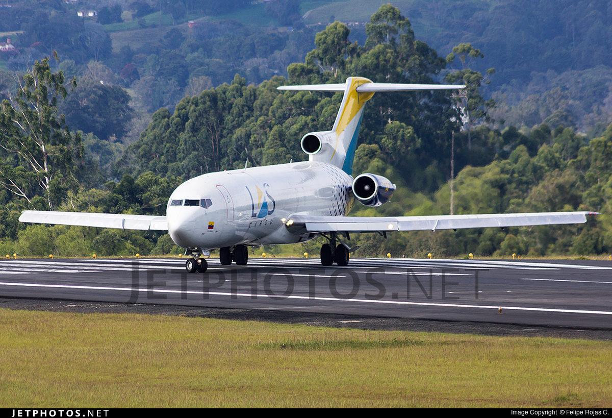 Photo of HK-4637 Boeing 727-2S2(Adv)(F) by Felipe Rojas C.