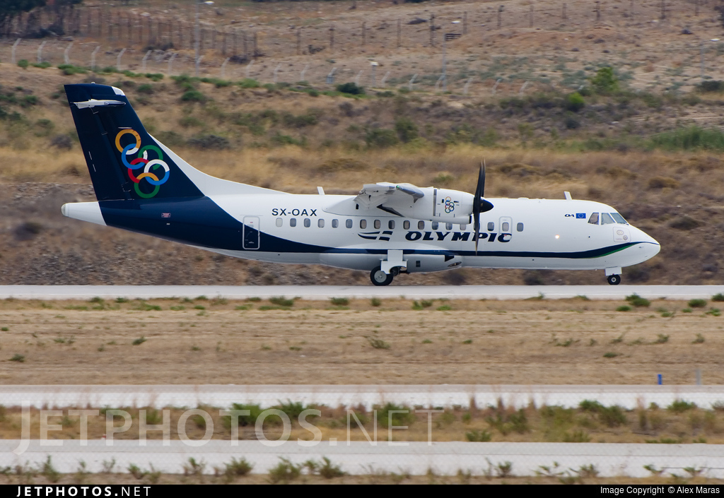 Photo of SX-OAX ATR 42-600 by Alex Maras