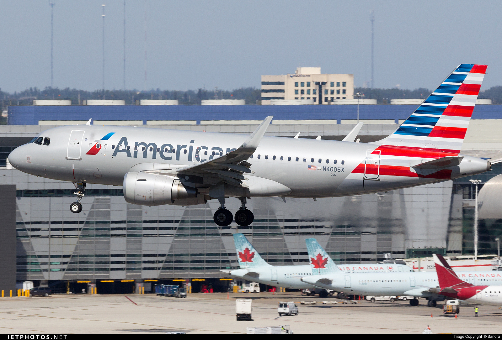 American Airlines Aircraft With The New Colors